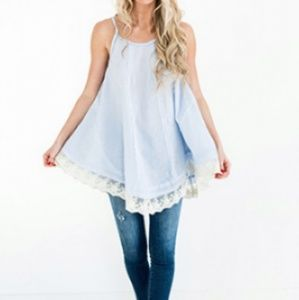 NWT Lace Tunic/Tank
